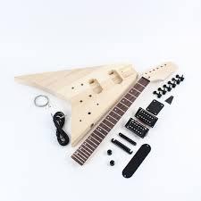 jackson flying v style guitar kit