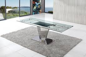 dome furniture. Dome Extending Glass Dining Table Furniture E
