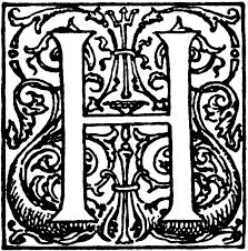 Decorative Letters Decorative Letter H Clipart Etc