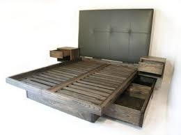 platform beds with drawers. Fine With Custom Platform Bed With Drawers And Sidetables Uphostered Headboard Inside Platform Beds With Drawers