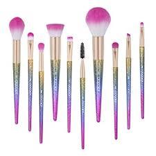 docolor makeup brushes 10pcs fantasy set foundation powder eyeshadow kits