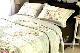 quilts and comforter sets bedroom country patchwork bedding french quilt queen fl set