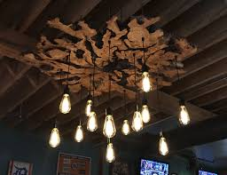 rustic outdoor lighting luxury live edge olive wood chandelier by 7mwoodworking 7mwoodworking
