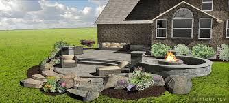 paver patio fire pit springboro oh supply outdoor living