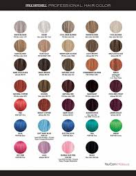 Paul Mitchell Professional Color Swatches Pinterest