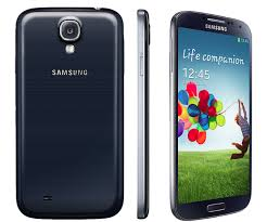 samsung phone back png. samsung galaxy s4 black official (back front and side) phone back png