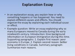 how to write essays 16 explanation essay•
