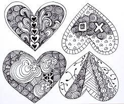 Zentangle Pattern Ideas Custom Punk Projects Zentangle Valentines DIY