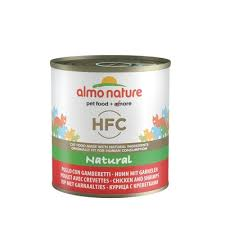<b>Almo Nature консервы</b> для кошек с курицей и креветками, <b>Classic</b> ...