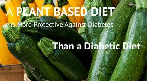 research paper on diabetes reversal by plant based diet