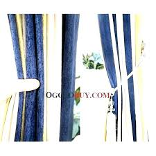 rugby stripe shower curtains