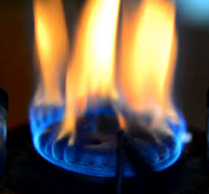gas stove flame. Bad Gas Hob Flame Stove