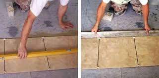 how to lay a tile floor today s homeowner regarding leveling for plan 18