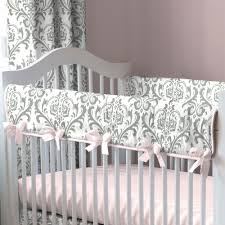 Carousel Designs Crib Rail Cover Pink And Gray Traditions Crib Rail Cover Crib Rail Cover