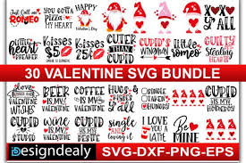 These free svg cutting files are compatible with cricut, cameo silhouette and other major cut machines. 30 Valentine Bundle Graphic By Designdealy Com Creative Fabrica In 2020 Valentines For Singles Happy Valentines Day Mom Valentine