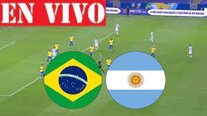 Brazil vs Argentina LIVE MATCH 2021 HD ...