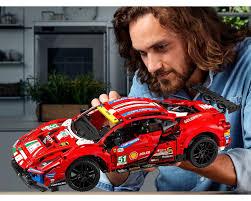 Lego technic 42125 ferrari 488 gte смотреть. Lego Set 42125 1 Ferrari 488 Gte Af Corse 51 2021 Technic Rebrickable Build With Lego
