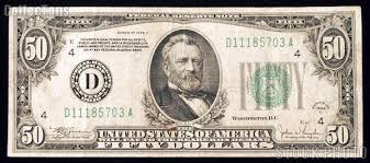 Image result for 50 dollar bill