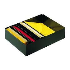 desk drawer paper organizer. Delighful Paper STEELMASTER 3Compartment Desk Drawer Stationery Holder 1138 X 375 15  Inches Black 271R2S15BK Amazonin Home U0026 Kitchen On Paper Organizer F