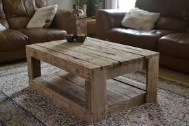 Coffee Table:Rustic Pallet Coffee Table Rustic Coffee Table Sets Natural  Wood With Table Square
