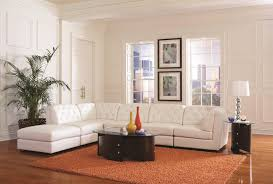 Modular Furniture Living Room Coaster Quinn Transitional Modular Sectional Sofa Coaster Fine