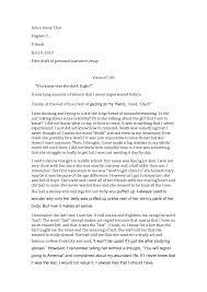 sample personal narrative essays sample sponsorship agreement rent college sample personal narrative essays sample sponsorship agreement rent ggeazxvpersonal narrative essay examples high school large