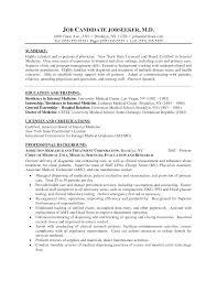 Medical Doctor Cv Resume Sample Impressive Resume Format Sample For Doctors About How To Write Cv 8