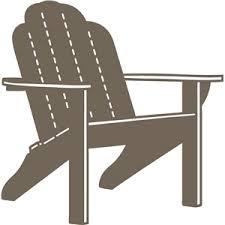 adirondack chair silhouette. Adirondack Chair Silhouette S