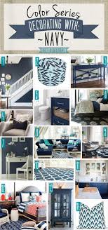 Color Series Decorating With Navy Blues Huis Ideeën Woonkamer