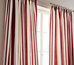 printed vertical stripe red grey cream lined pencil
