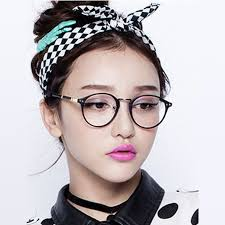 2015 New Korean pop lovely round metal frame spectacles plain glasses  womenin Eyewear Frames from Menu0027s Clothing u0026 Accessories on Aliexpresscom   Alibaba