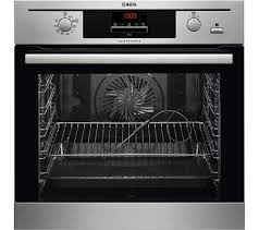 John Lewis Kitchen Appliances Aeg Steambake Be500452dm Electric Oven Stainless Steel