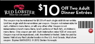Red Lobster Coupons Printable Freepsychiclovereadings Com