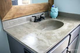 concrete sink diy learn how our concrete vanity is holding up months after completion concrete ramp concrete sink diy