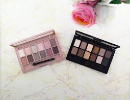 the maybelline blushed s and s palette from sephora and ulta makeup haul featuring items from