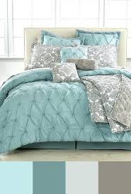 light blue and gray bedding impressive grey and blue bedroom color schemes with best grey teal