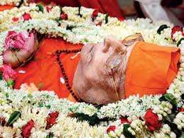 சுவாமி ஆத்மஸ்தானந்தர் காலமானார்