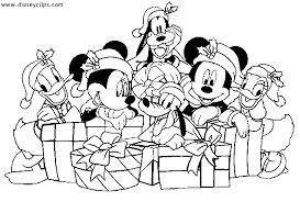 Disney Christmas Coloring Pages Christmas Coloring Pages Featuring