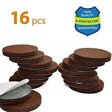 x protector premium 16 thick 1 4 heavy duty felt furniture pads 2