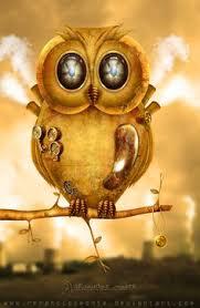 owl steunk by renanciocmonte