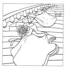 Cinderella Coloring Pages Free Printable Cinderella Coloring Pages
