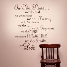 Words To Decorate Your Wall With Word Wall Decorations Home Where You Treat Your Friends Removable