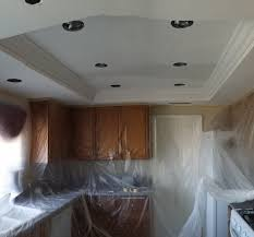 Recessed Lights In Kitchen Recessed Lighting Acoustic Removal Experts