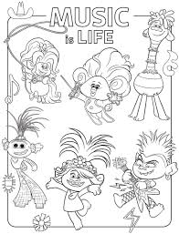661 transparent png illustrations and cipart matching trolls. Free Printable Trolls World Tour Party Pack With Activity Coloring Pages Free Kids Coloring Pages Poppy Coloring Page Coloring Pages