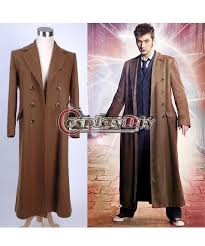 custom made men s who is doctor doctor who dr brown long trench coat suit jacket cosplay costume children costumes costumes from