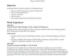 Landscape Architect Sample Resume Freeletter Findby Co