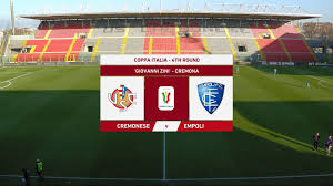zkfootballmatches: Coppa Italia 19/20 - 4th Round ...