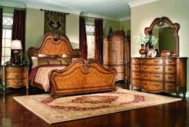 Courcheval Queen Panel Pecan Bedroom Set ~New Furniture Image