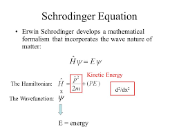 2 schrodinger equation erwin lecture 17 the hydrogen atom ppt