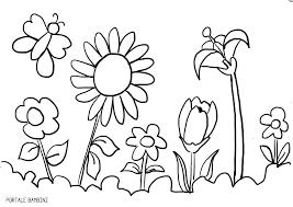 Disegni Di Primavera Da Colorare Portale Bambini